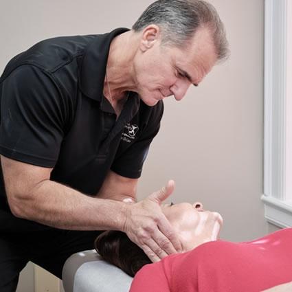 Dr. Suber cervical adjustment