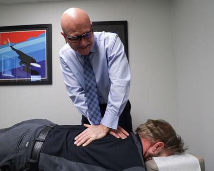 Dr. Smith adjusting back