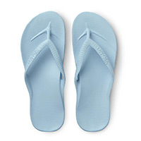 Archies light blue thong sandals