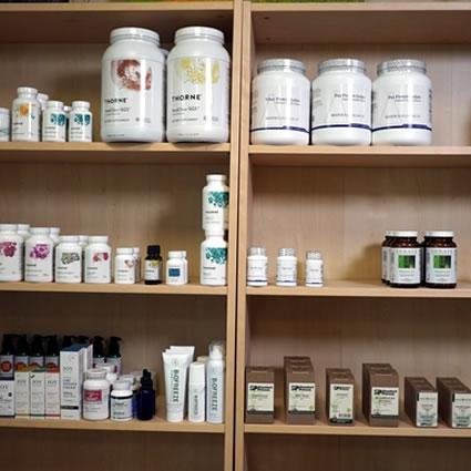 Supplements at Ritchie Chiropractic & Integrative Medicine