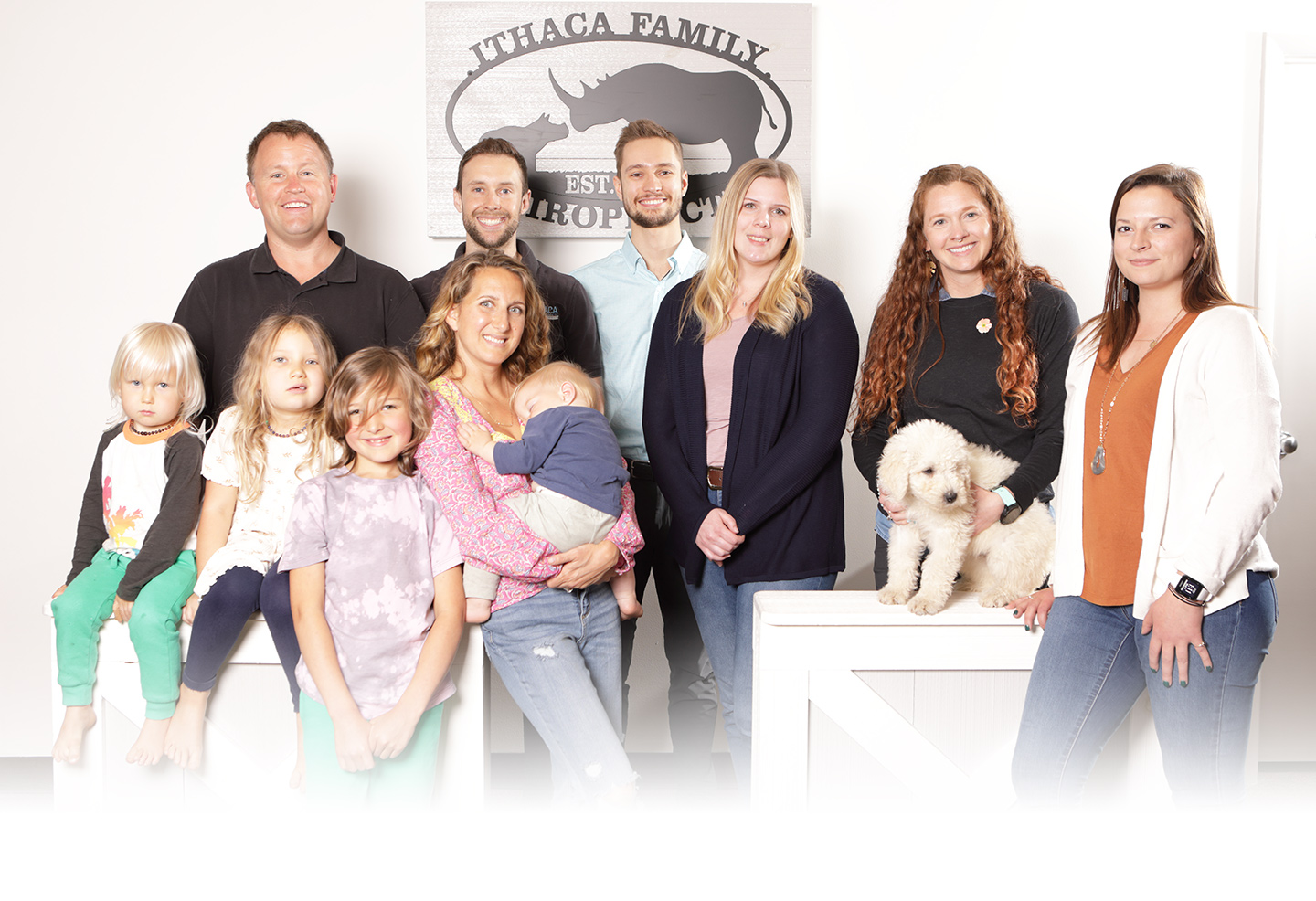 Ithaca Family Chiropractic team and family