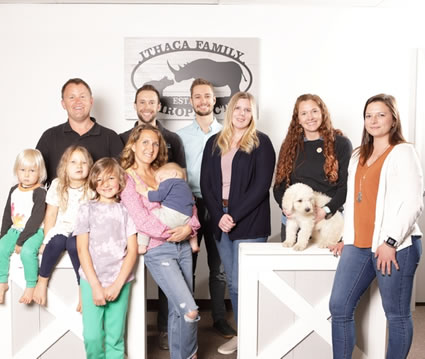 Ithaca Family Chiropractic team and families