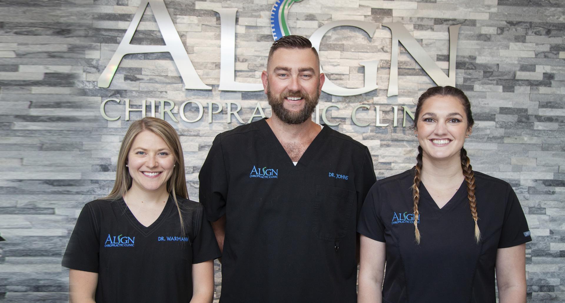 Align Chiropractic Clinic team
