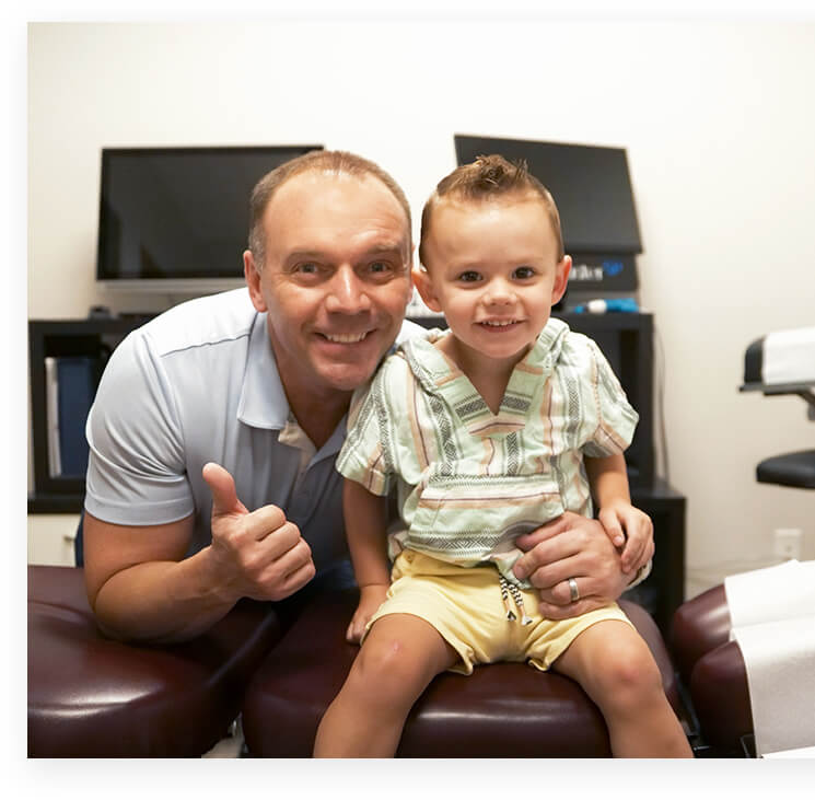 dr. Jeff with little boy