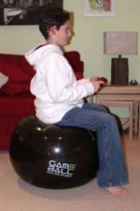 Good posture using Game Ball