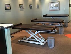 Tables in Adjusting Area