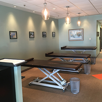 Adjusting Area at Envive Chiropractic