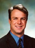 Portrait of chiropractor in New York Mills, Dr. James Kolwaite