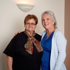 Dr. Karen With Patient
