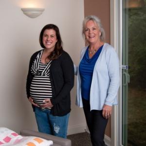 Dr. Karen and Pregnant Patient
