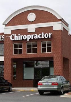 Ballantyne Advanced Chiropractic Building exterior