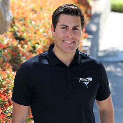 Chiropractor, Dr. Brandon Holmes