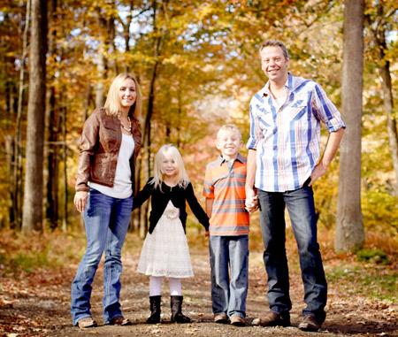 Dr Morrison family