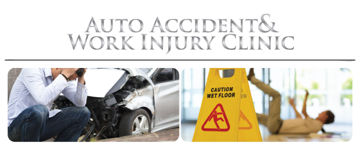 Car Accident and Man falling