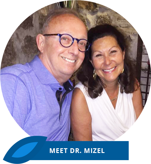 Dr. Mitzel and wife