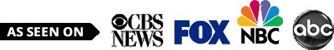 As seen on CBS News, Fox, NBC, ABC