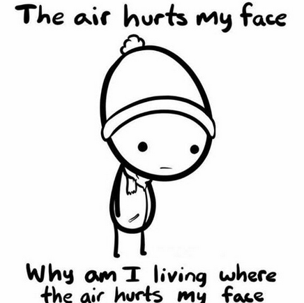 The air hurts my face - Imgur