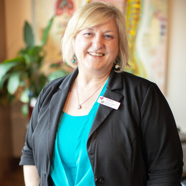 Marge Mcatarsney, LifeWorks Family Chiropractic practice manager
