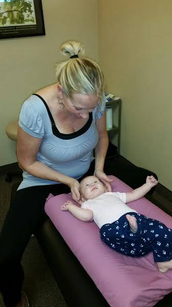 Ivy Adjusting a Patient