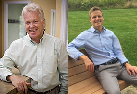 Dr. Dan Ohlman and Dr. Zach Nelson