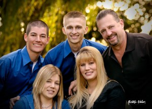 Dr. Brian Crawford with his family