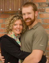 Dr. Chris Wambeke and his wife