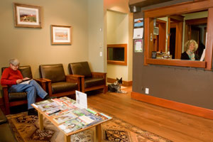 Our Whitefish Chiropractic Office is warm and welcoming.