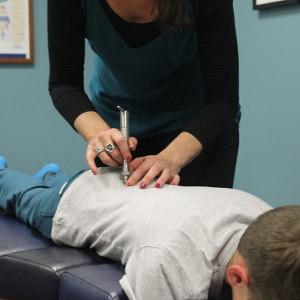 image of chiropractic technique