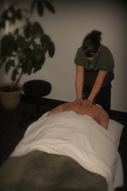 When used along with chiropractic care, massage therapy can help improve circulation and muscle tone