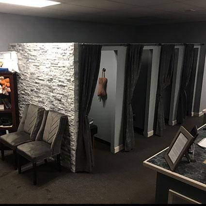 Boston Specific Chiropractic patient rooms