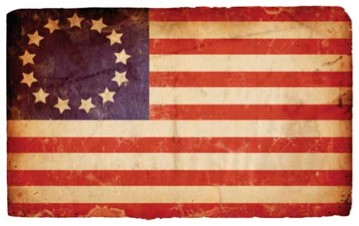 13 colony flag