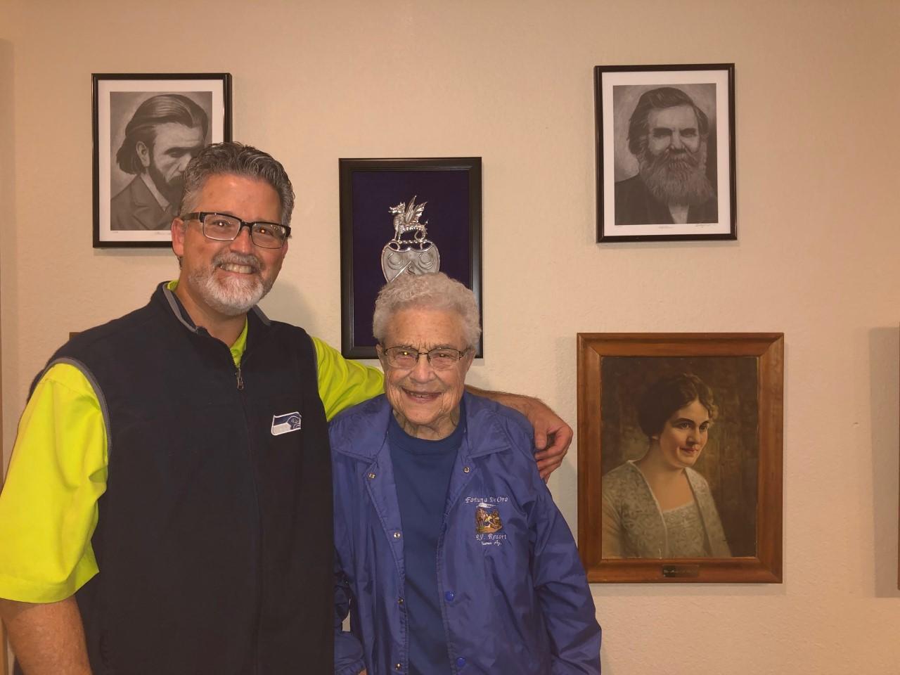 Norma Celebrates 85 years of Chiropratic!