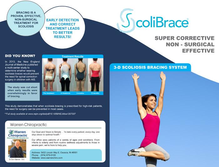 ScoliBrace at Warren Chiropractic Center