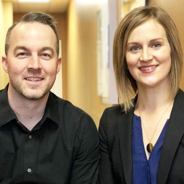 Dr. Pierre Paradis & Dr. Erin McLaughlin