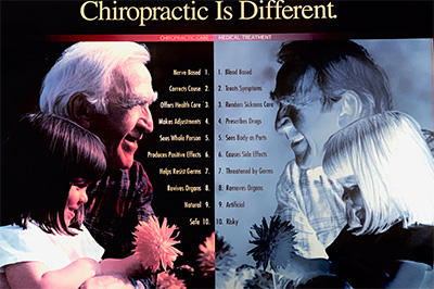 chiropractic is different image