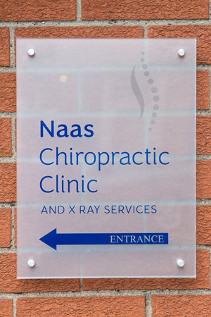 Naas Chiropractic Clinic sign