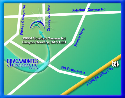 Canyon County Chiropractor : Map