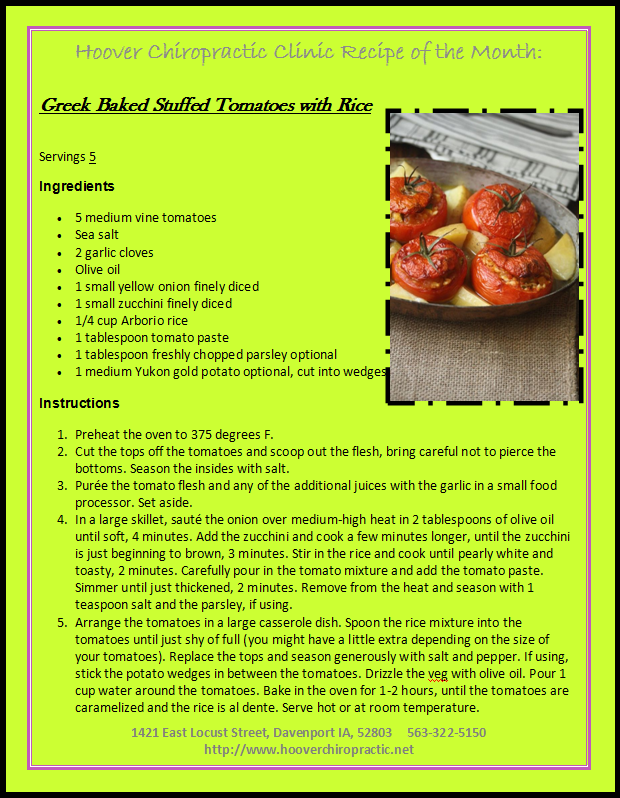 fb Recipe of the month OCT 2019