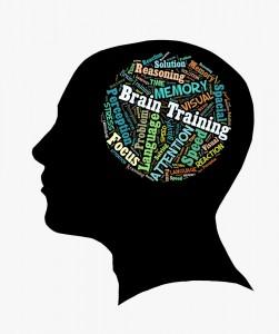 illustration of brain training