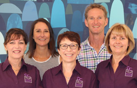 Julie Gray & Mark Lacey and the team at Chiropractic Connection