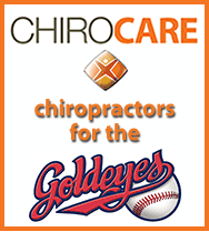 Official Chiropractors of the Goldeyes!