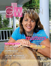 Cover of GLW with chiropractor in Williamston, Dr. Ann Marie Pushies