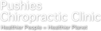 Pushies Chiropractic Clinic logo - Home