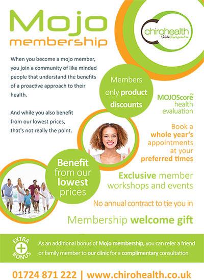 Mojo membership leaflet