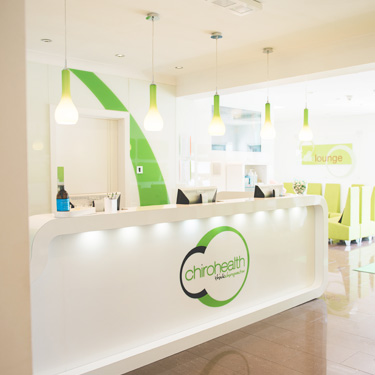 The Chirohealth Clinic Reception Area