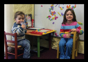 Kids love our Kid's Corner. So please feel free to bring your children in to the clinic instead of leaving them at home or getting a baby sitter!