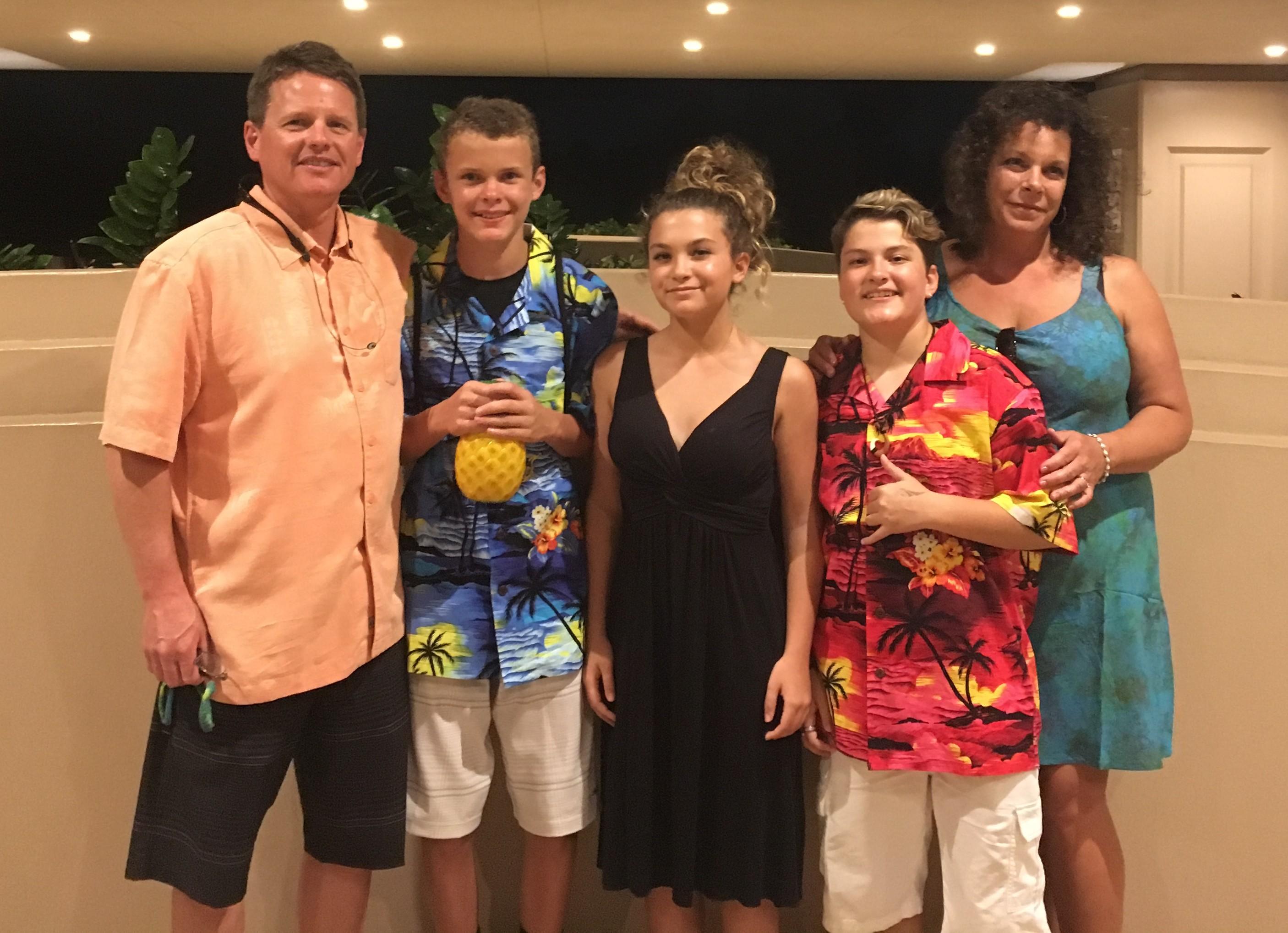 Dr Berards Family