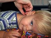 Gentle adjustments on child
