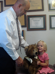 We are a family practice and kids love getting their adjustments.