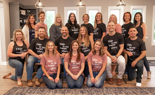 pwc office team photo June 2021